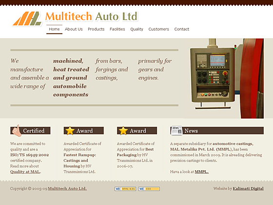 Multitech Auto Ltd. - Homepage