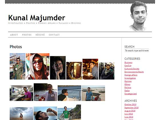 Kunal Majumder - Photos
