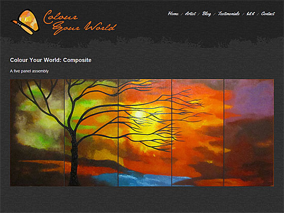 Colour Your World - Single Painting
